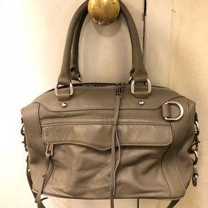 Rebecca Minkoff Grey Leather satchel